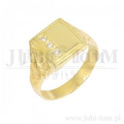 Sygnet złoty pr 585