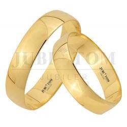 Obrączki klasyczne żółte złoto - 5 mm pr 333