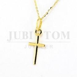 Krzyżyk złoty 585