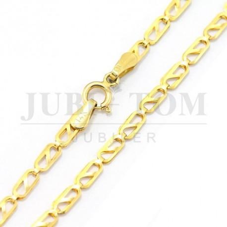 Ładny łańcuszek żółte złoto