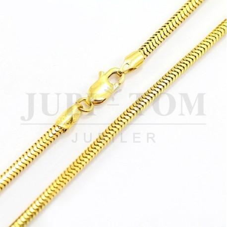 Łańcuszek żółte złoto p.585