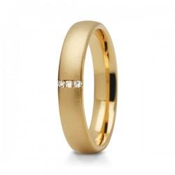 Obraczki ślubne białe złoto + żółte złoto