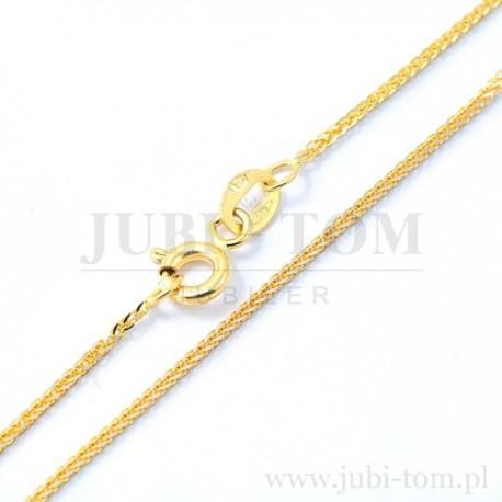 Łańcuszek złoty - lisek