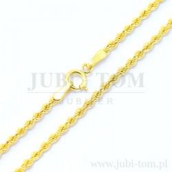 Łańcuszek złoty - Kordelka