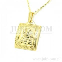 Medalik z drogą grecką złoty p.585
