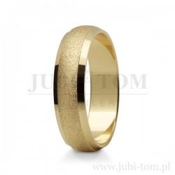 Obraczki - żółte złoto złoto